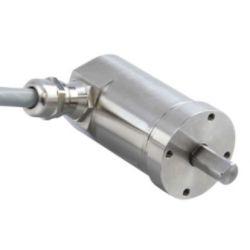 UCD - 16x16 bits multiturn SSI, stainless steel, diameter 42 mm, shaft ø 10 mm - ID478