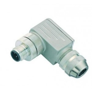 Connector M12 4 pin, angled, BINDER -ID251