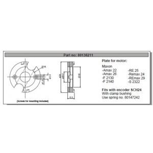 Plaque de montage SCH24 - ID308