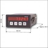 AP40 Compteur-tachymètre DIEGON pour capteur SSI, incrémental ou analogique