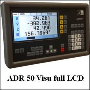 ADR50 Visualisateur 4 axes écran full LCD, pour capteur magnétique linéaire