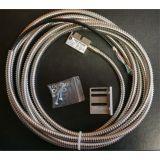 MLS110 - Codeur magnétique linéaire 5 microns, IP67, 24 Vcc, câble blindé pur, gaine de protection spiralée inox -ID379