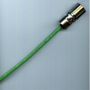 Câble 10 m PUR vert + Connecteur M23 femelle 12 broches - SCON-SCDa-010 -ID343