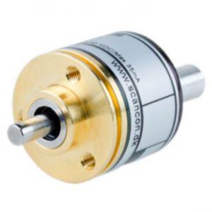 SCA24-IP65 - 2500 ppr, diameter 24 mm, shaft ø 4 x 15 mm with flat -ID212
