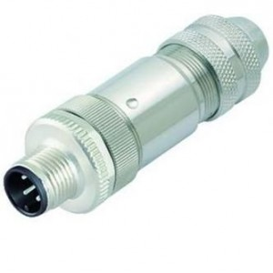 Connector M12 4 pin male, BINDER - ID264