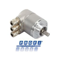 OCD - 25 bits Multitours, liaison PROFIBUS®, taille 58 mm, axe sortant Ø 10 mm - ID274