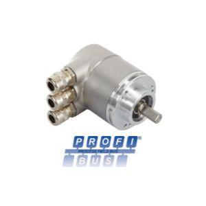 OCD - 25 bits Multitours, liaison PROFIBUS®, taille 58 mm, axe sortant Ø 10 mm - ID274