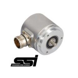 OCD - 25 bits multiturn SSI, synchro flange ø 58 mm, shaft ø 6 mm - ID231